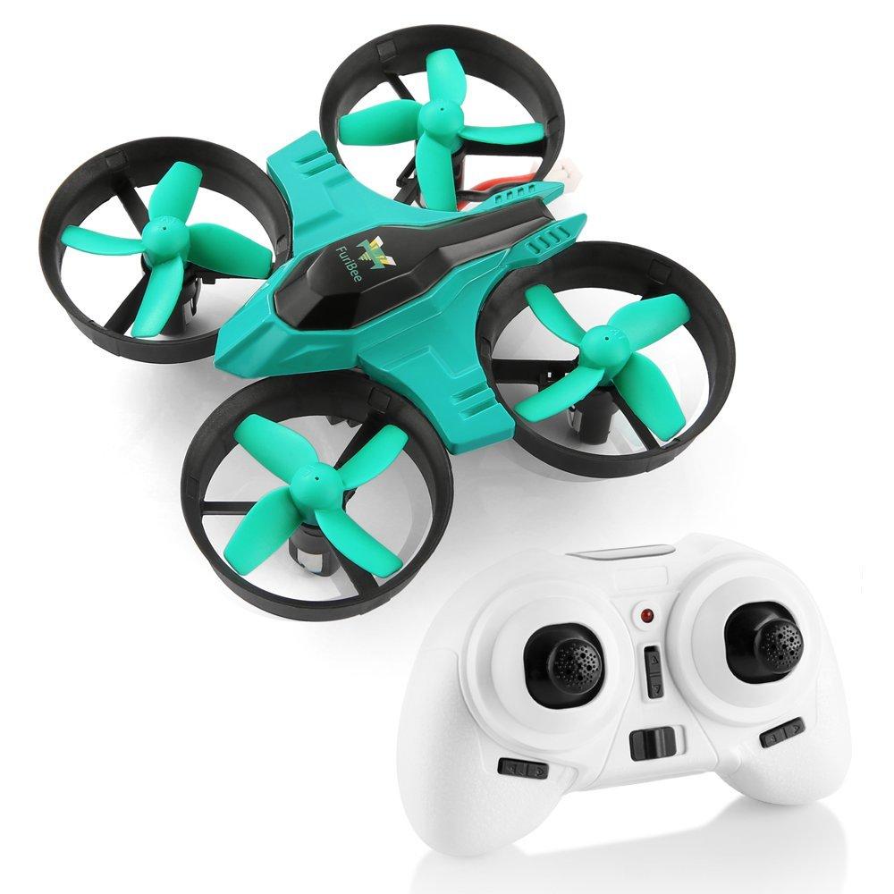 Mini Quadcopter Drone, F36 Mini RC Drone 2.4G 4CH 6Axis Gyro Remote Control Nano Drone RTF for Kids Adults Beginners - Headless Mode, 3D Flip, One Key Return