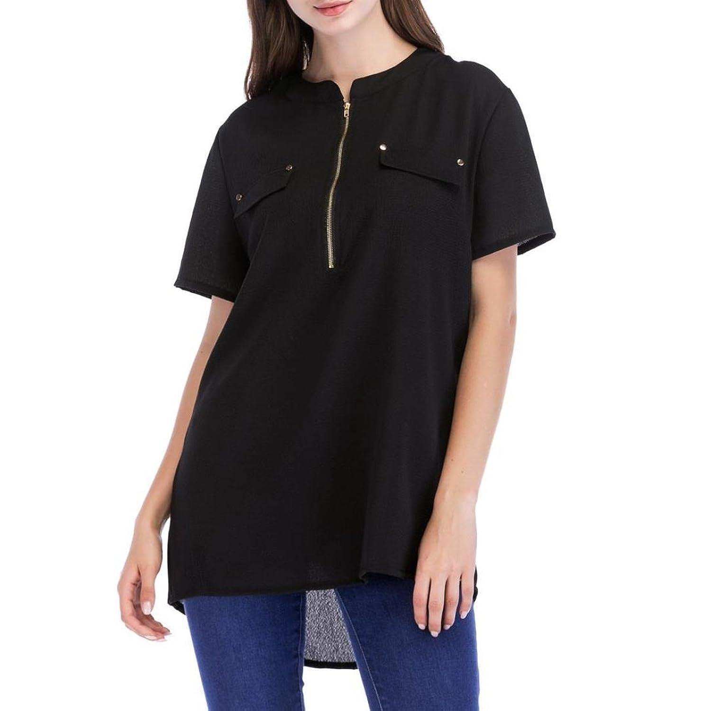 Plus Damen Kariert Blusen T-Shirt Casual Freizeit Shirt Tops Oberteile Bandage
