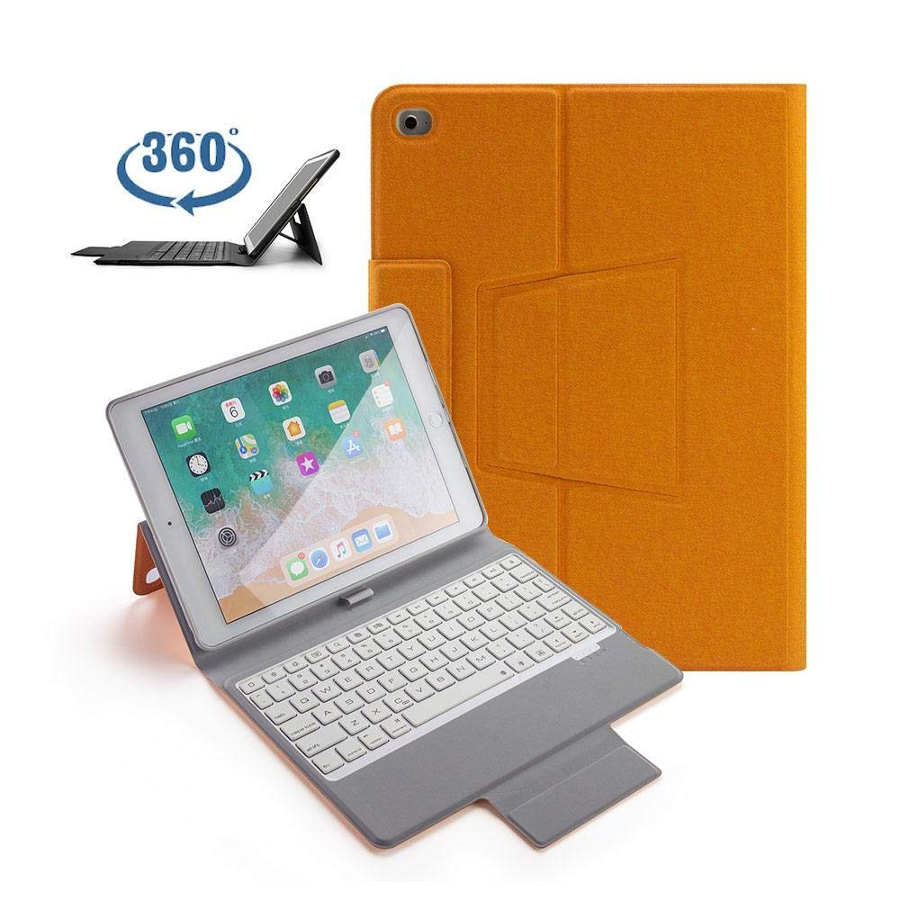 安い TEEPAO 9.7インチ キーボードケース スリムスタンド iPad 2017 キーボードケース iPad 9.7 B07L77JBTG/iPad Pro 9.7/iPad Air 2/iPad Air 1 360度回転 スリムスタンド PUレザーケースカバー ペンシルホルダー内蔵 B07L77JBTG, トヨサカシ:71ea0c76 --- a0267596.xsph.ru