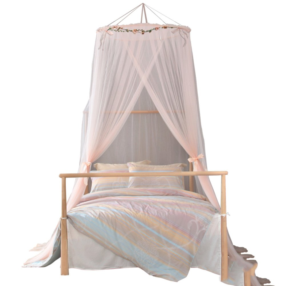 Romantic,Elegant Dome,Ceiling Bed Net/Fine,Fashion Princess Wind To The Mosquito Net/Simple Mosquito Net-D C by fdgg