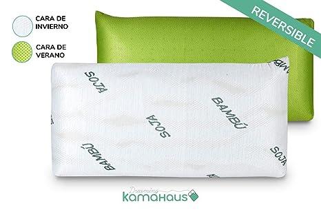 KAMA HAUS Almohada viscoelástica Soja Essence 80cm | Núcleo ...