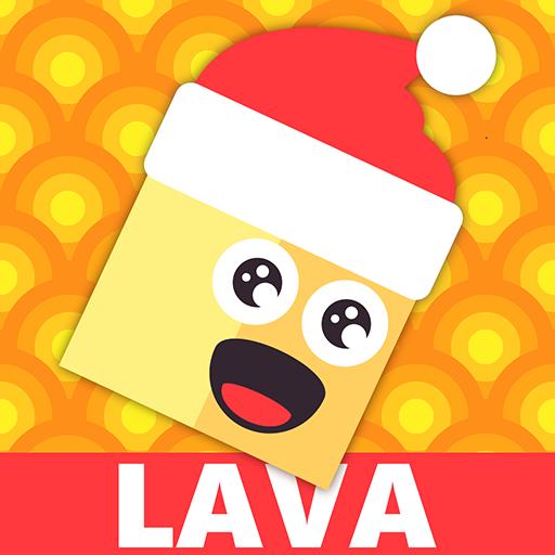 Office Games For Christmas - LAVA Avoider XMAS - The Floor Is Hot! Christmas Arcade Tube Meme Challenge 2k18