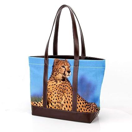 Bolsa para Ordenador portátil con Estampado de Leopardo de ...