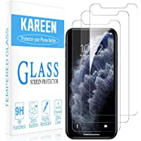 For iPhone 12 PRO MAX and 12 PRO and 12 and 12 mini - KAREEN (Pack of 3) Screen Protector Tempered Glass Highly durable…