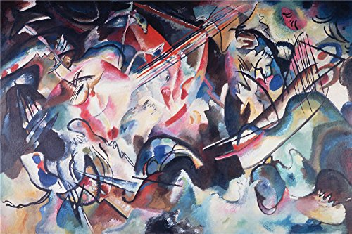 Oil Painting 'Kandinsky, Vasily_1913_Composition VI', 16 x 24 inch / 41 x 61 cm , on High Definition HD canvas prints is for Gifts And Bar, Hallway And Home Office - Store Infinity Nyc Clothing