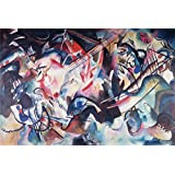 Canvas Prints Of Oil Painting ' Kandinsky, Vasily_1913_Composition VI ' , 18 x 27 inch / 46 x 69 cm , High Quality Polyster Canvas Is For Gifts And Bar, Hallway And Home Office Decoration, printart