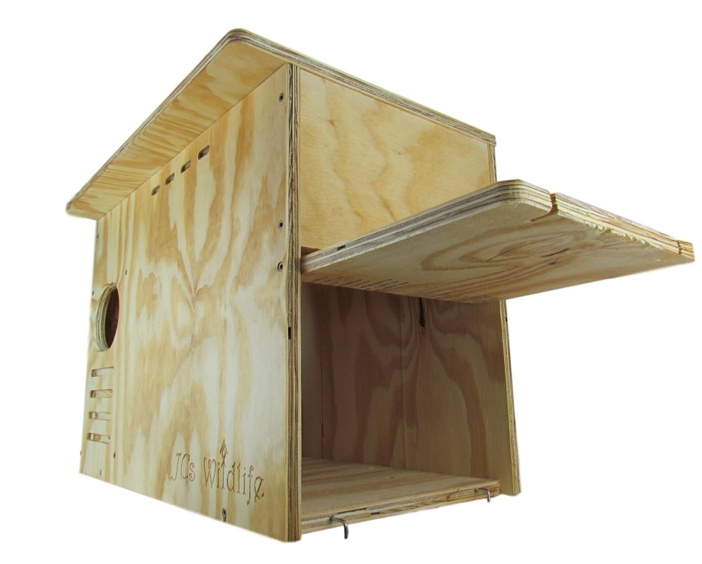 JCs Wildlife Barn Owl Nesting Box Large House Crafted in USA w by JCs Wildlife (Image #4)