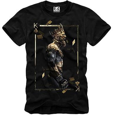 E1syndicate T Shirt Conor Mcgregor Ufc Mma Champion Bellator Black