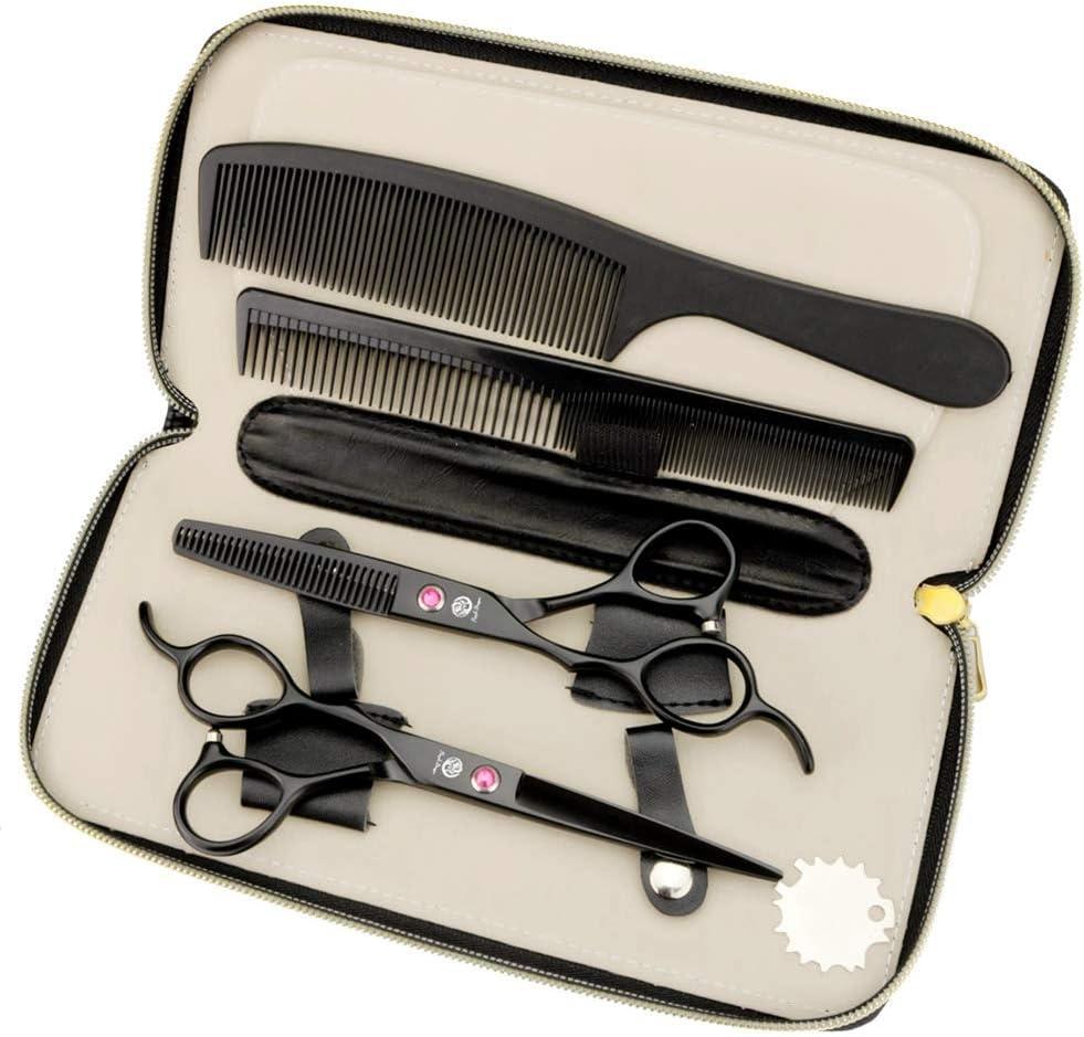 Tijeras de corte recto de peluquería para zurdos 6.0 (OCVC)