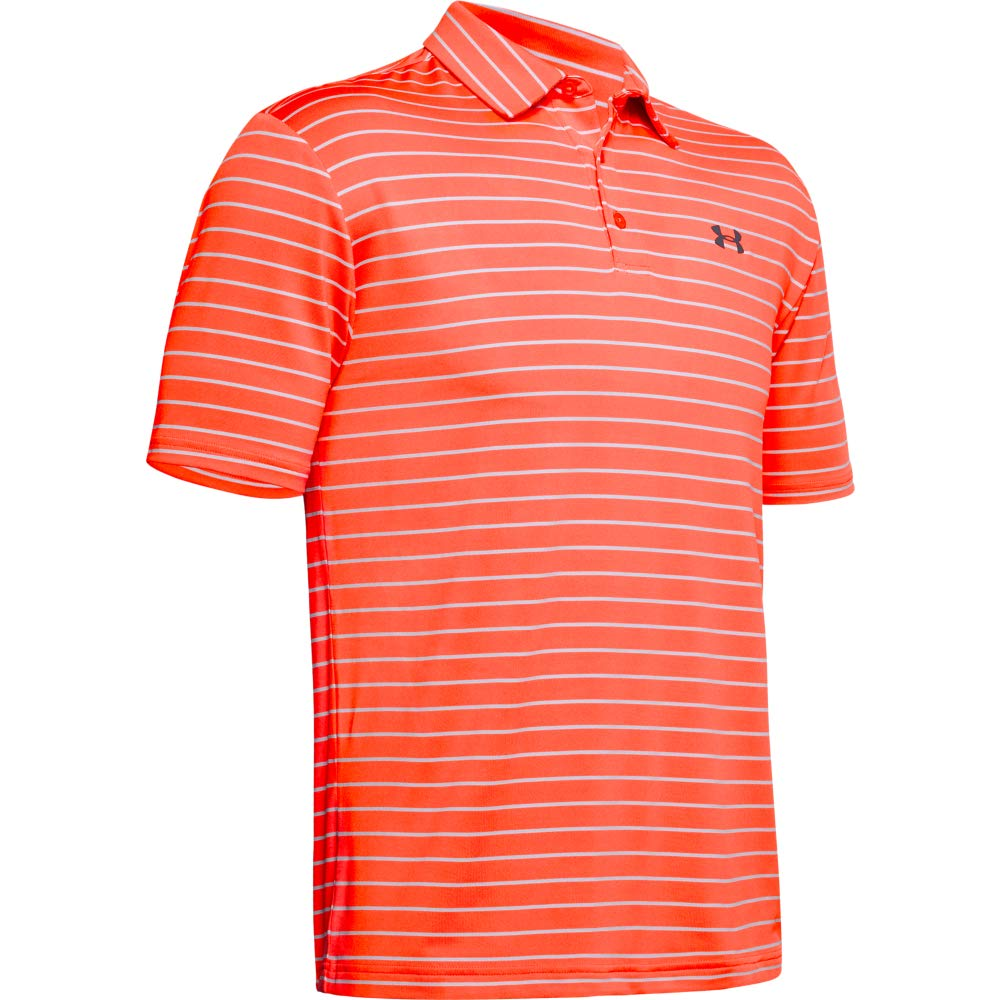 Under Armour Men's Playoff Golf Polo 2.0, Beta Red/Pitch Gray, Medium by Under Armour