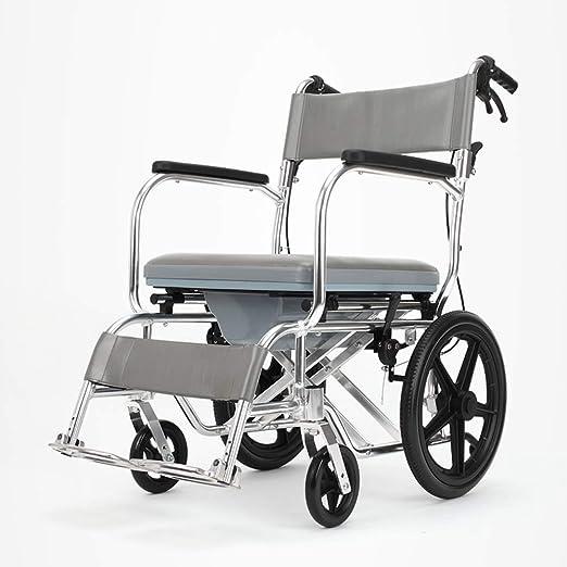 CRKY Asiento De Inodoro con Silla De Ruedas para Discapacitados ...