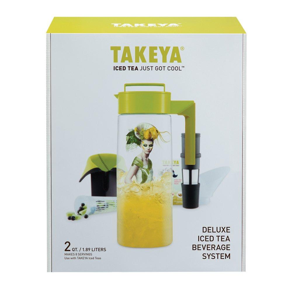 Takeya Deluxe Iced Tea Beverage System, 2-Quart by Takeya (Image #2)