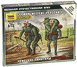 Zvezda Models German Medical Unit Building Kit (1941-43), Scale 1/72