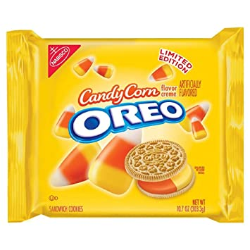amazon com candy corn oreos limited edition