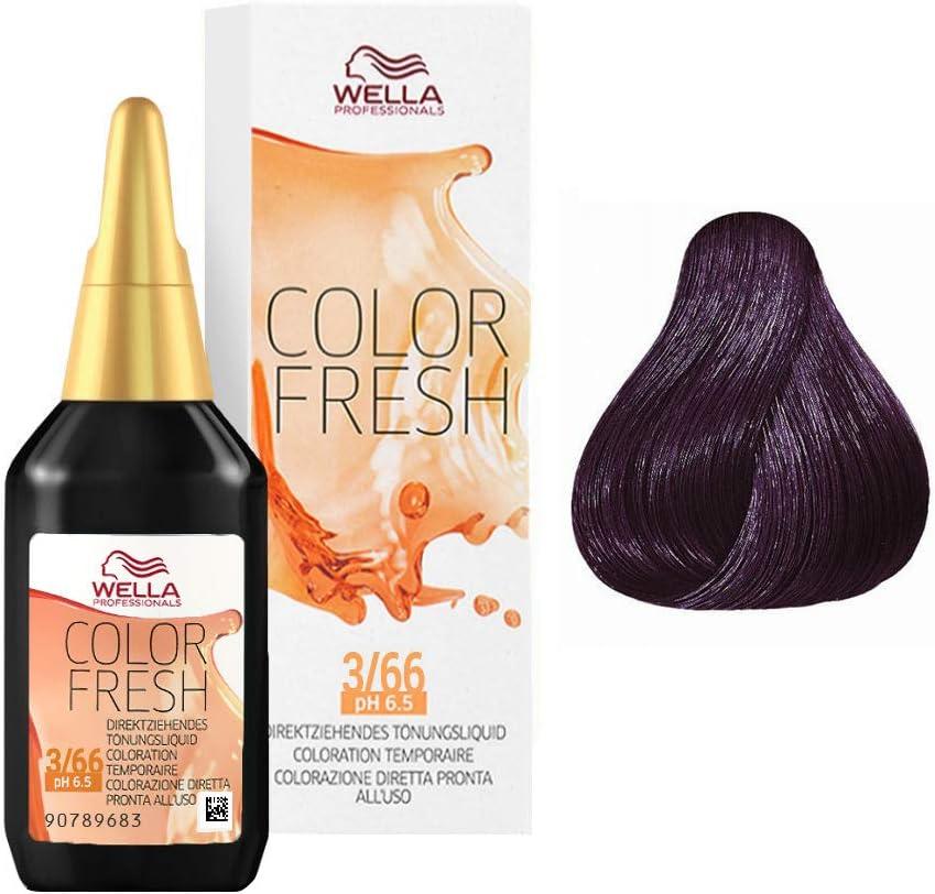 Wella Color Fresh 3/66 du.bra.vio.intenso 75 ml