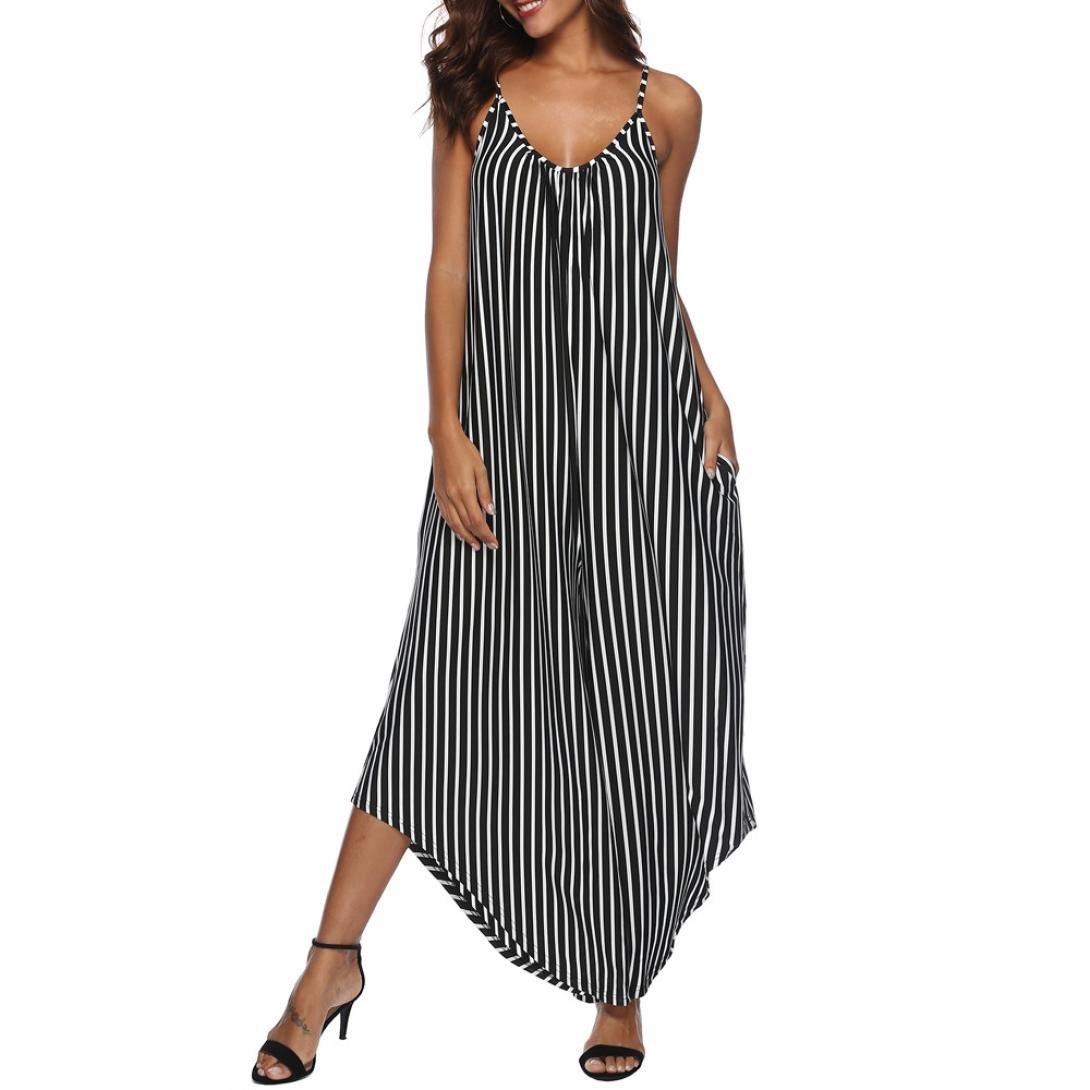Mujer blusa Vestido casual verano y Otoño,Sonnena Mujeres verano Plus Size sin mangas O cuello camisas plisadas túnica flowy blusa del tanque mujer fashion ...