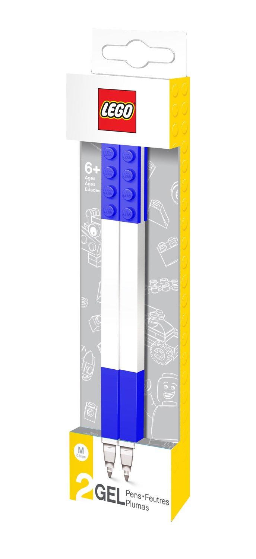 Lego 0229625 Cancelleria Penna Gel, 2 Pezzi, Blu SR51503
