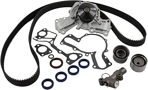 DNJ TBK1150AWP Timing Belt Kit Water Pump For 2004 Chrysler Pacifica 3.5L SOHC