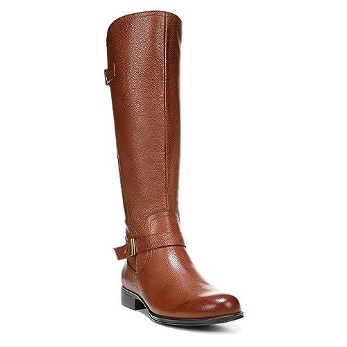 53edcef783e Naturalizer Joan Wide Calf Riding Boot  Amazon.co.uk  Shoes   Bags