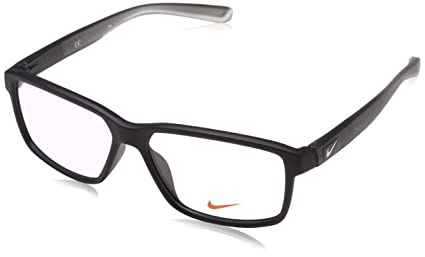 99276d6687a Image Unavailable. Image not available for. Color  Eyeglasses NIKE 7092 010  MATTE BLACK ANTHRACITE CLEAR