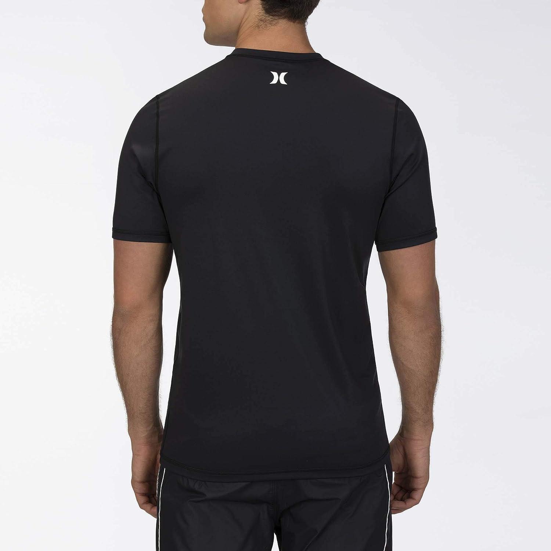 Hurley Mens One /& Only Stars and Stripes Short Sleeve Sun Protection Rashguard Shirt