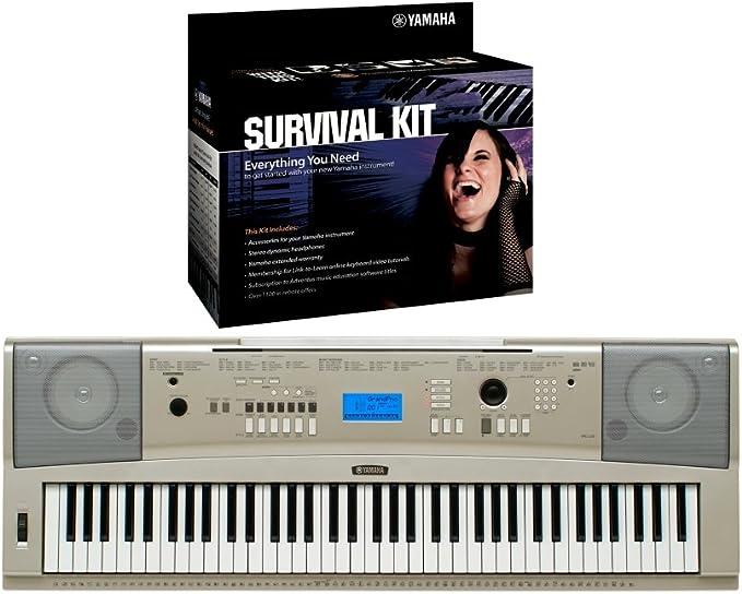 Yamaha YPG-235 Piano portátil teclado de 76 teclas con D2 Kit ...