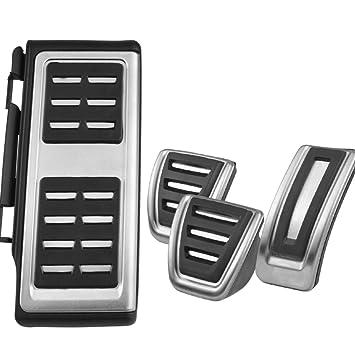 Emblema Trading Auto accesorios Tuning Acero Inoxidable Pedales Pedal Pedal tapas Gas Pedal Pedal de freno