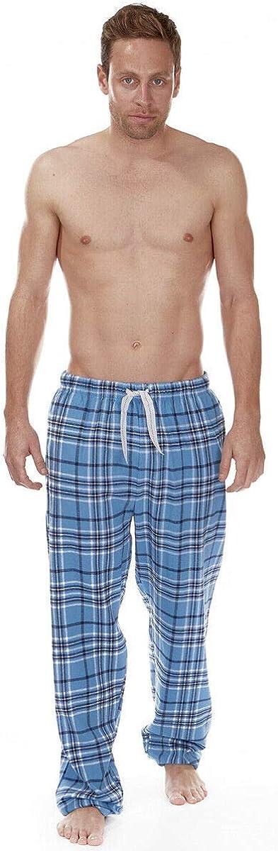 Mens Cargo Bay /& Jason Jones PJ Lounge Pant Jersey Or Jacquard Elasticated Waist