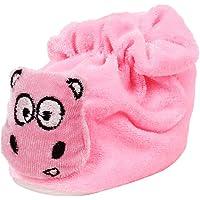 Ole Baby Snowy Man Soft Velvet Furry Friend Smiling Cartoon Bootie