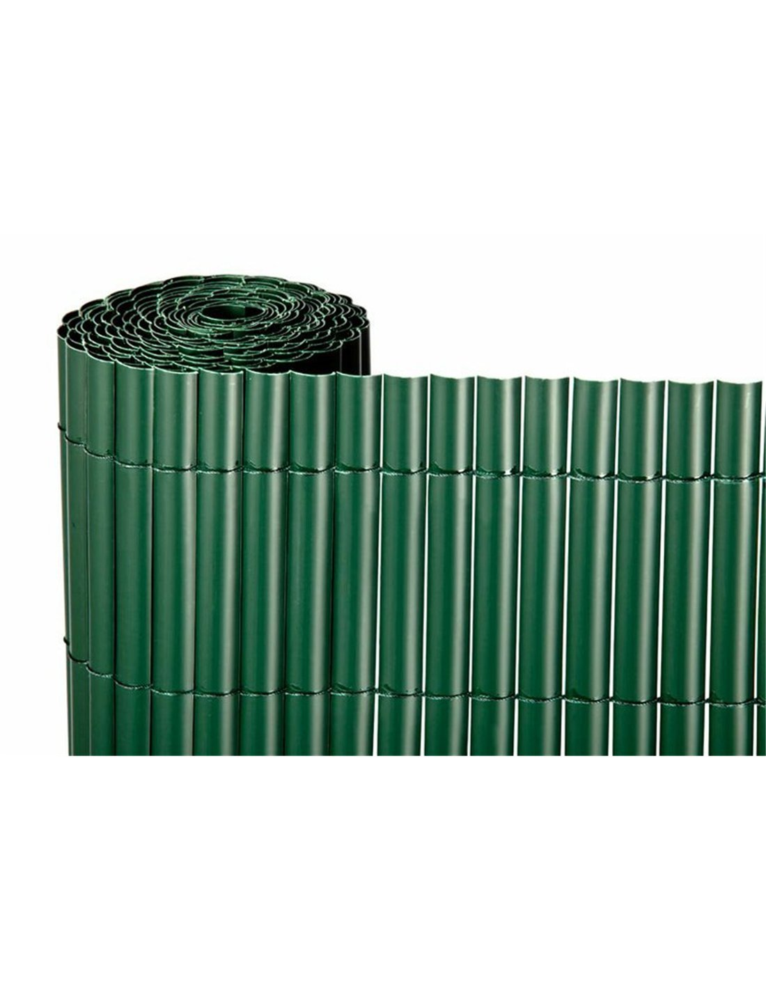 Jardin202 1x3m - CAÑIZO PVC Simple Cara Verde 900gr /3 Metros LINEALES