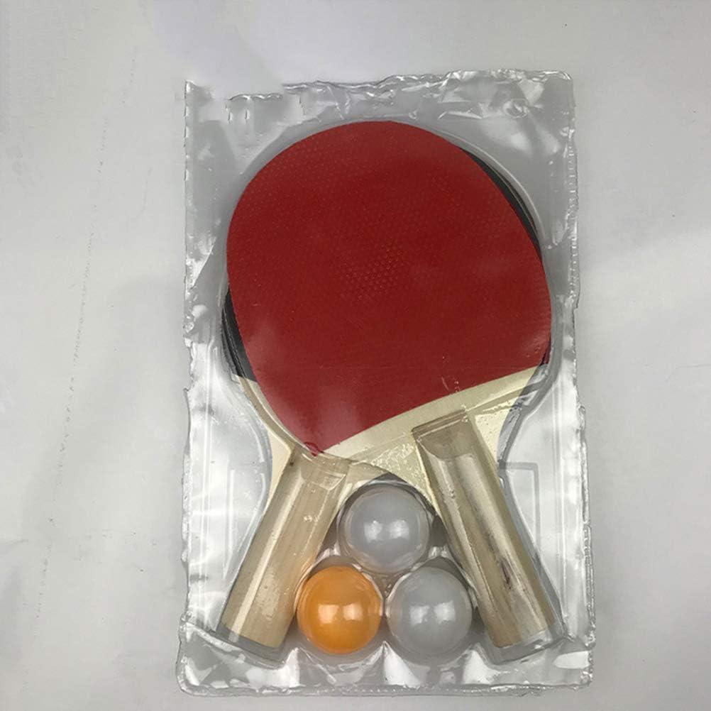 Ping Pong Paddle Racket for Beginner Training Ping-Pong Board Table Tennis Racket Set LIOOBO Table Tennis Racket