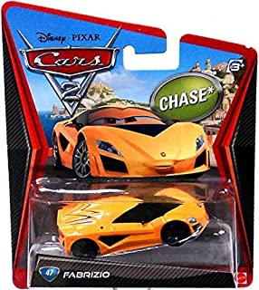 Disney Pixar CARS 2 Movie 1:55 Die Cast Car Fabrizio # 47 *Chase