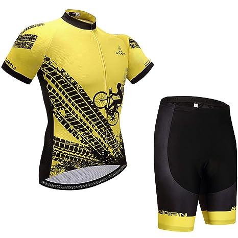 GRXXX Equipo de Ciclismo Traje de equitación, Transpirable y ...