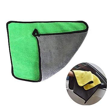 Toalla de Microfibra para Limpieza de Coches, Ultra Gruesa, Muy Absorbente, para pulir