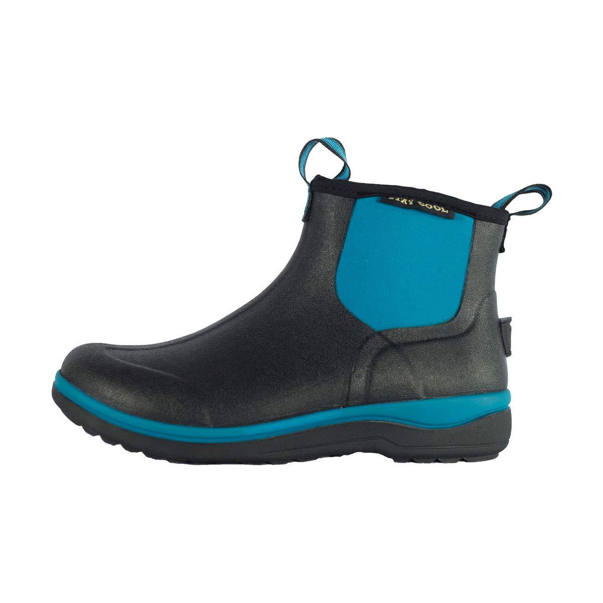 [Noble Outfitters] (ノーブルアウトフィッターズ) レディース Muds Stay クール 6 ブーツ 婦人靴 長靴 乗馬 レインブーツ 女性用 B01H4G44E0 9|Deep Turquoise Deep Turquoise 9