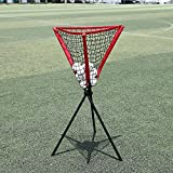 Benlet Baseball/Softball Ball Caddy/Portable Batting Practice Ball Holder, 21.7'' x 21.7'' Balls Caddy with Carrying Bag