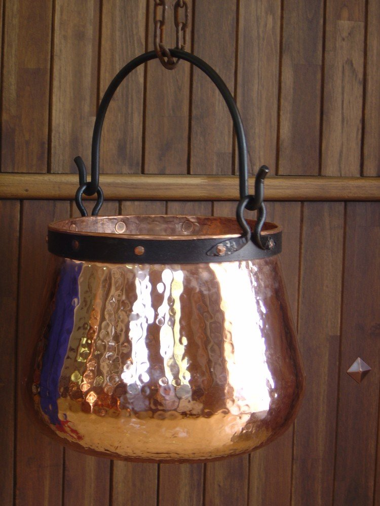 'CopperGarden' copper cauldron/witches' cauldron, 20 L CopperGarden®