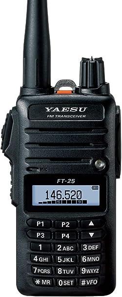 3 Year Warranty Yaesu Original FT-25 FT-25R 144 MHz VHF Mono Band FM Hanheld Transceiver