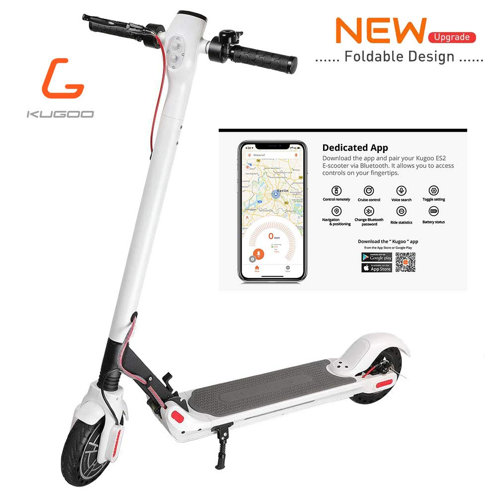 Patinete Electrico Adulto Plegable Kugoo Es2 Scooter Adulto ...
