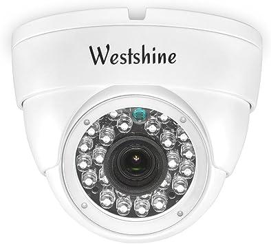 Opinión sobre Westshine Cámara de Seguridad IP, 2MP PoE (Power by Ethernet),Cámaras Domo de vigilancia para Red en Interiores,Nube P2P, detección de Movimiento, 24pcs IR Leds 30 Metros de visión Nocturna