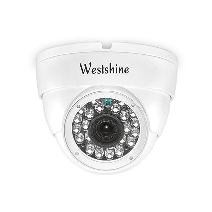 Westshine Cámara IP de seguridad, cámara IP de 3MP / 2MP POE (Alimentación por