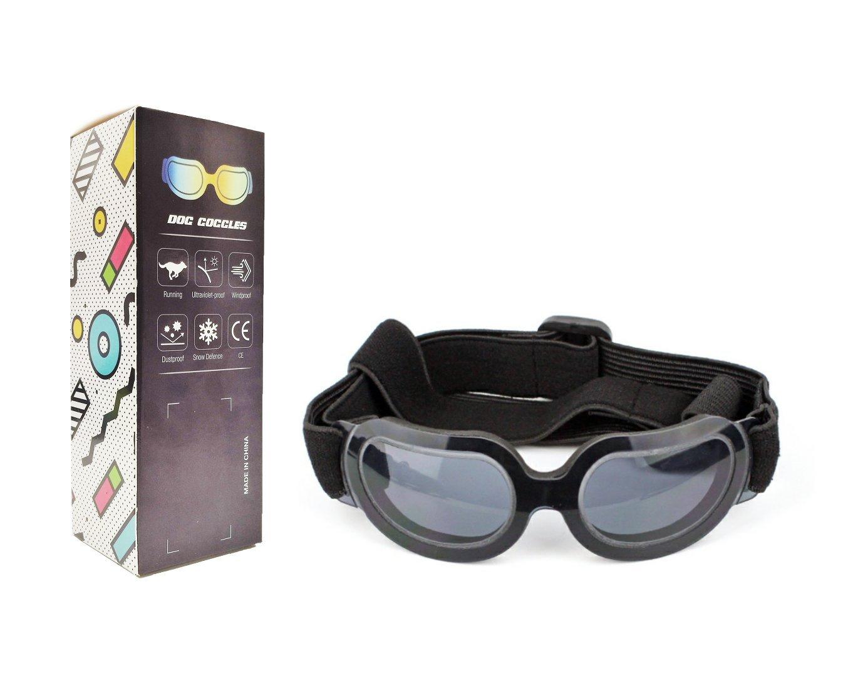 8daf8675d63103 Chiens Lunettes de natation pour animal domestique Moto Lunettes de soleil  Lunettes de protection contre les