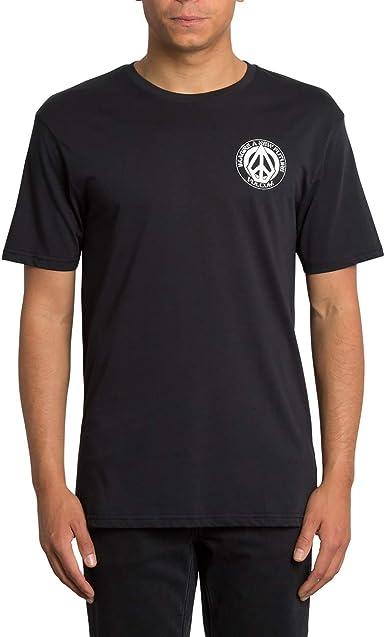 Volcom Camisa Conceiver Basic Short Sleeve - Hombre Camisa - Black: Amazon.es: Ropa y accesorios