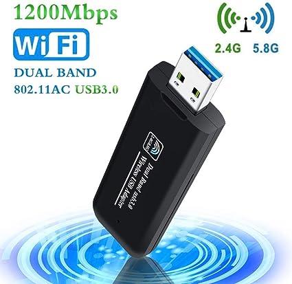 PiAEK USB Wifi Adapter, 1200Mbps Wifi