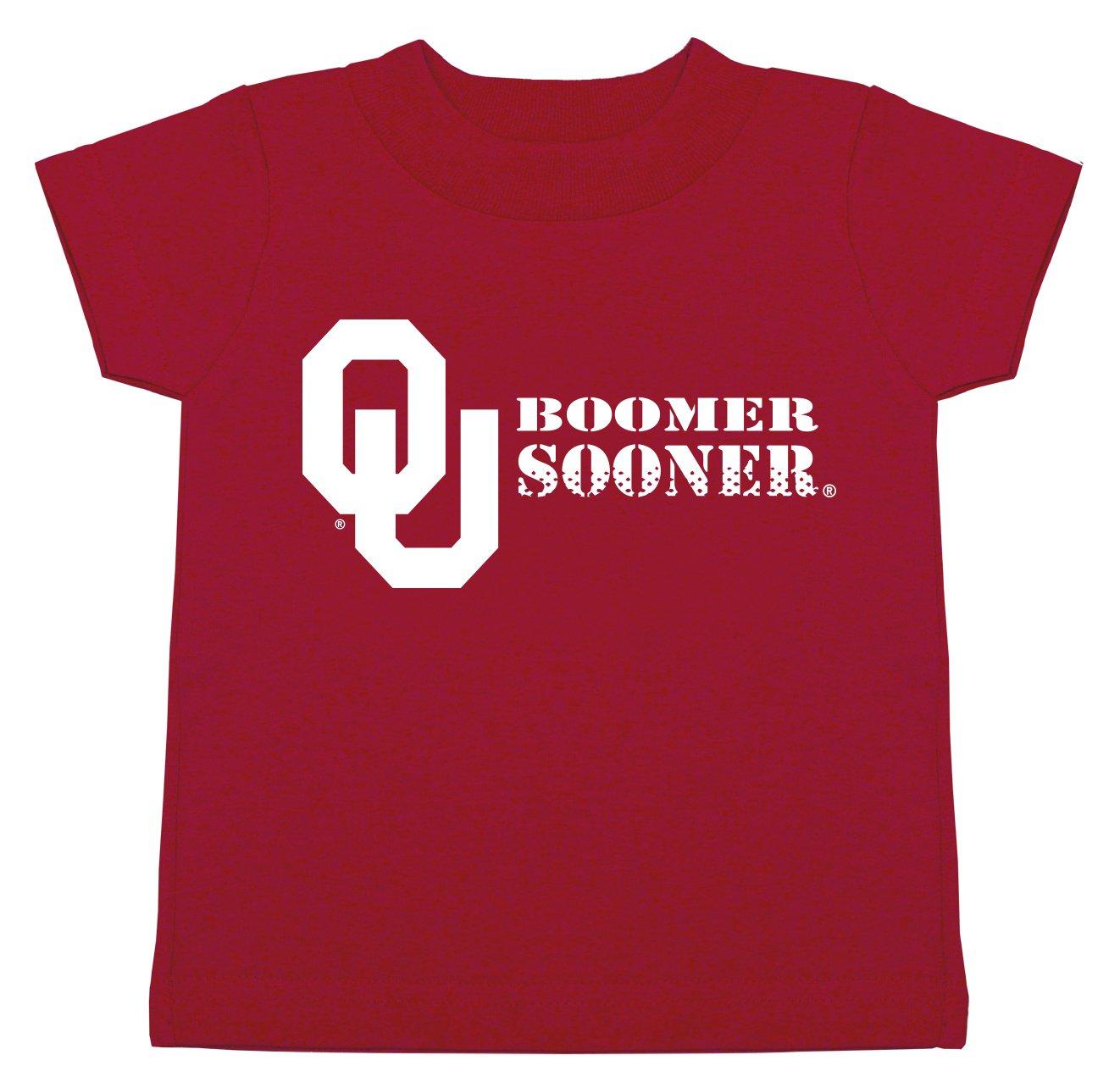 限定版 NCAA Oklahoma Oklahoma Sooners子供男女兼用半袖Tシャツ、6ヶ月、クリムゾン B01NBJEH0S NCAA B01NBJEH0S, 三好佛具店:454348cf --- a0267596.xsph.ru