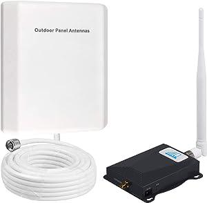 Verizon Signal Booster 4G LTE Cell Phone Signal Booster FDD 700Mhz Verizon Cell Signal Booster Amplifier Band 13 High Gain Cell Phone Booster Verizon Mobile Phone Signal Booster for Home and Office