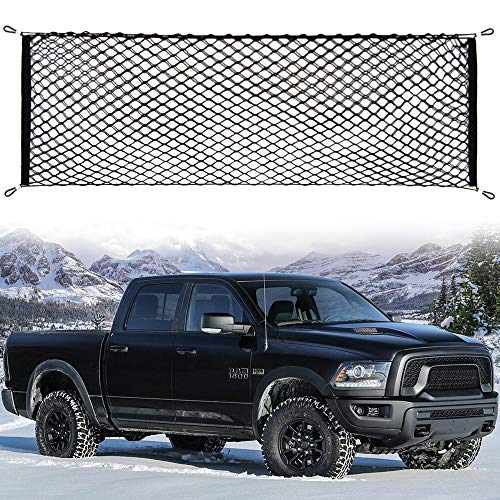 (etopmia Truck Bed Cargo Net Truck Net Organizer Fit Dodge Ram 1500 2009-2018)