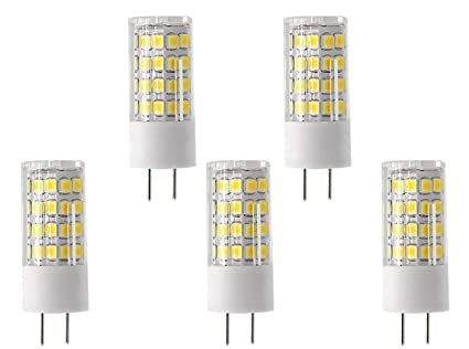 yyl G8 LED bombilla 110 V, 4 W, intensidad regulable, luz blanca, 6000 K, T4 G8 Base Bipin ...