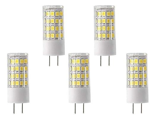 yyl G8 LED bombilla 110 V, 4 W, intensidad regulable, luz ...