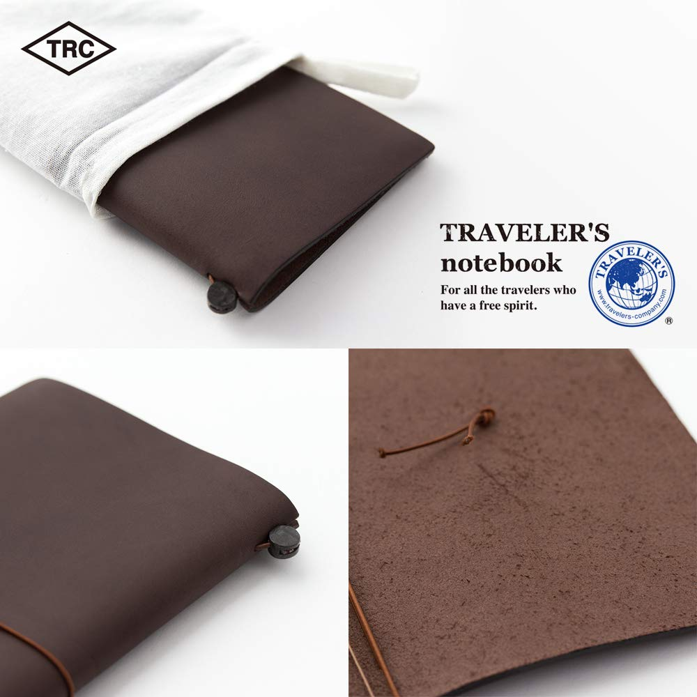 Travelers Notebook Brown Leather (1, 1 LB) by Xekia (Image #5)